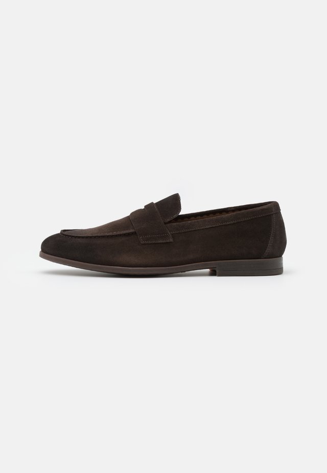 PENNY LOAFER - Slipper - testa di moro