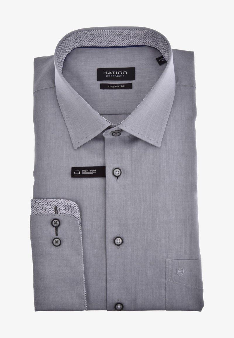 Hatico - Shirt - light grey