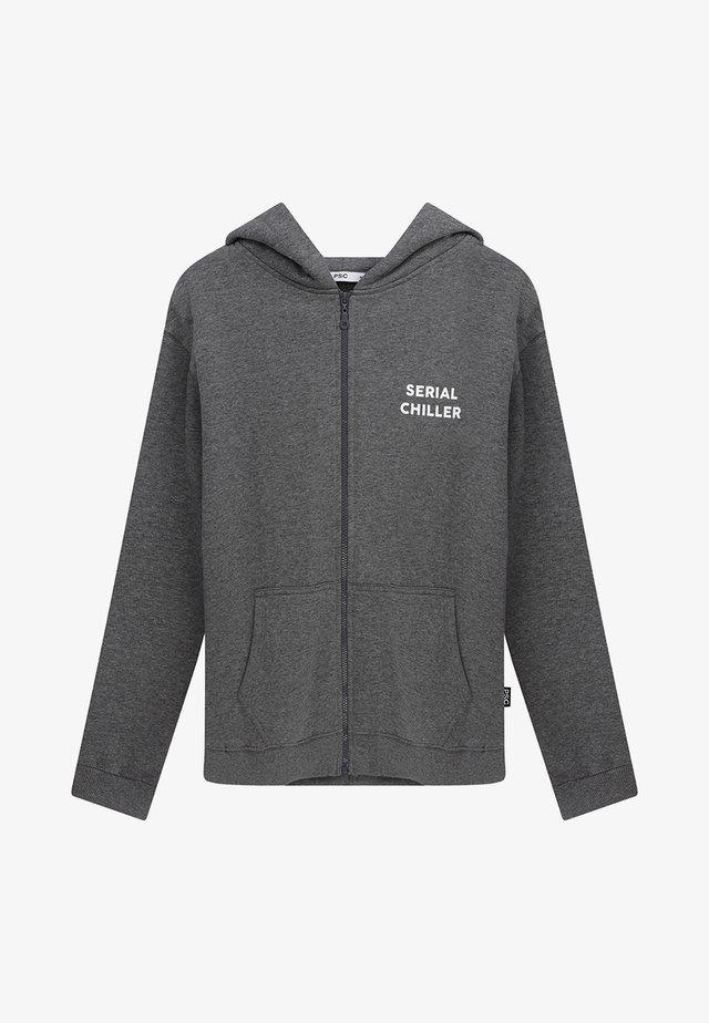 Zip-up sweatshirt - dark grey
