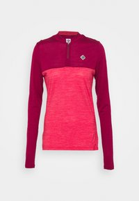 Triple2 - SWET NUL WOMEN - Wielershirt - beet red - 4