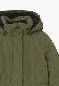 TrollKids - GIRLS ALESUND COAT - Down coat - khaki green - 5