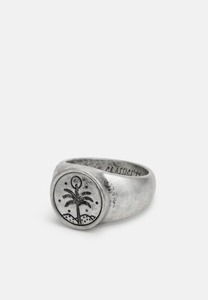 HAND CRAFTED PALM SIGNET - Prsten - silver-coloured