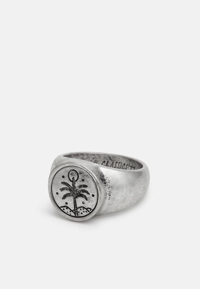 HAND CRAFTED PALM SIGNET - Ring - silver-coloured
