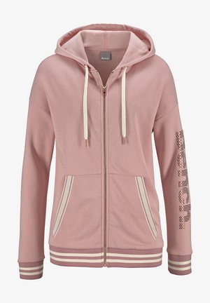 Zip-up hoodie - apricot
