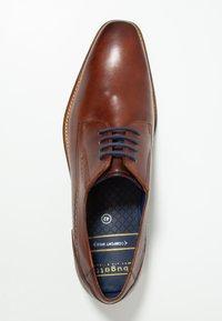 Bugatti - ARTURO - Klassiset nauhakengät - cognac - 1