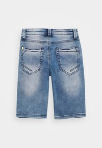 s.Oliver - Shorts vaqueros - blue denim - 1