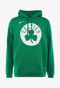 Nike Performance - NBA BOSTON CELTICS LOGO HOODIE - Jersey con capucha - clover - 4