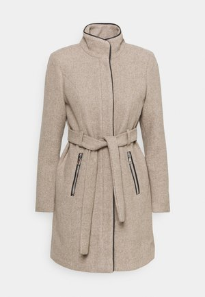 VMCLASSBESSY JACKET - Classic coat - sepia tint/melange