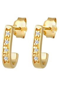 DIAMORE - Earrings - gold-coloured - 2