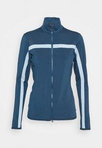 J.LINDEBERG - SEASONAL JANICE MID LAYER - Zip-up hoodie - midnight blue - 5