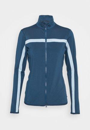 SEASONAL JANICE MID LAYER - veste en sweat zippée - midnight blue