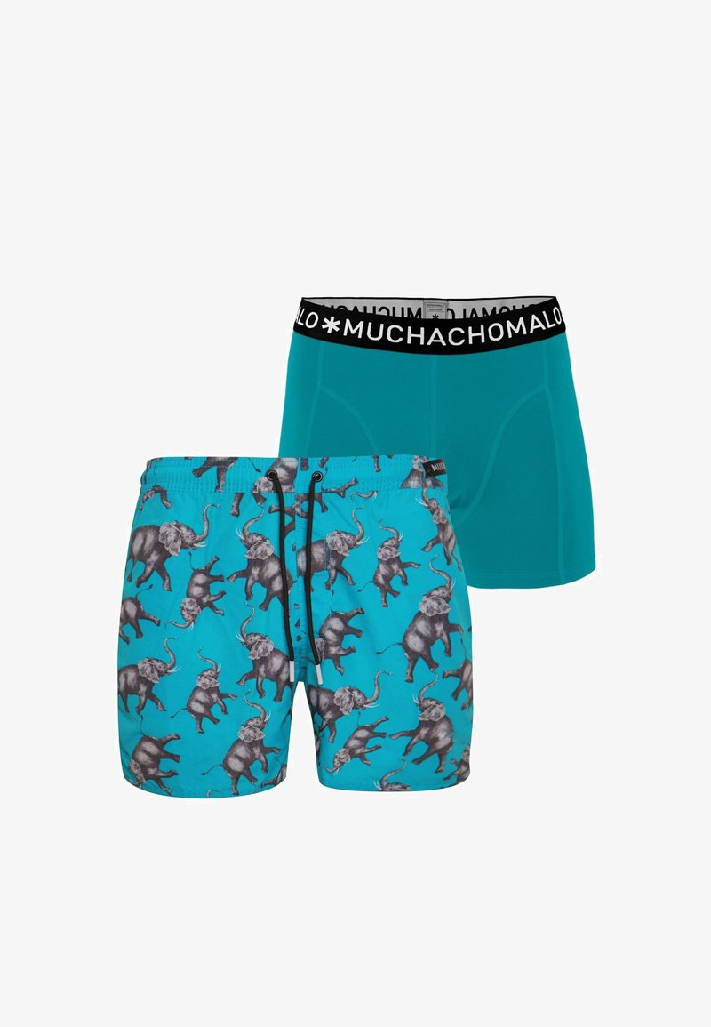 MUCHACHOMALO - 2 PACK - Swimming shorts - multicolor