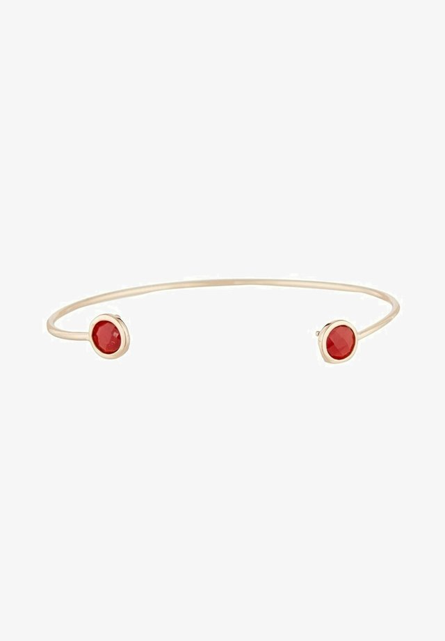 FANTAISIE - Bracelet - rose rouge