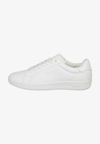 CROSSCOURT  - Baskets basses - white/white
