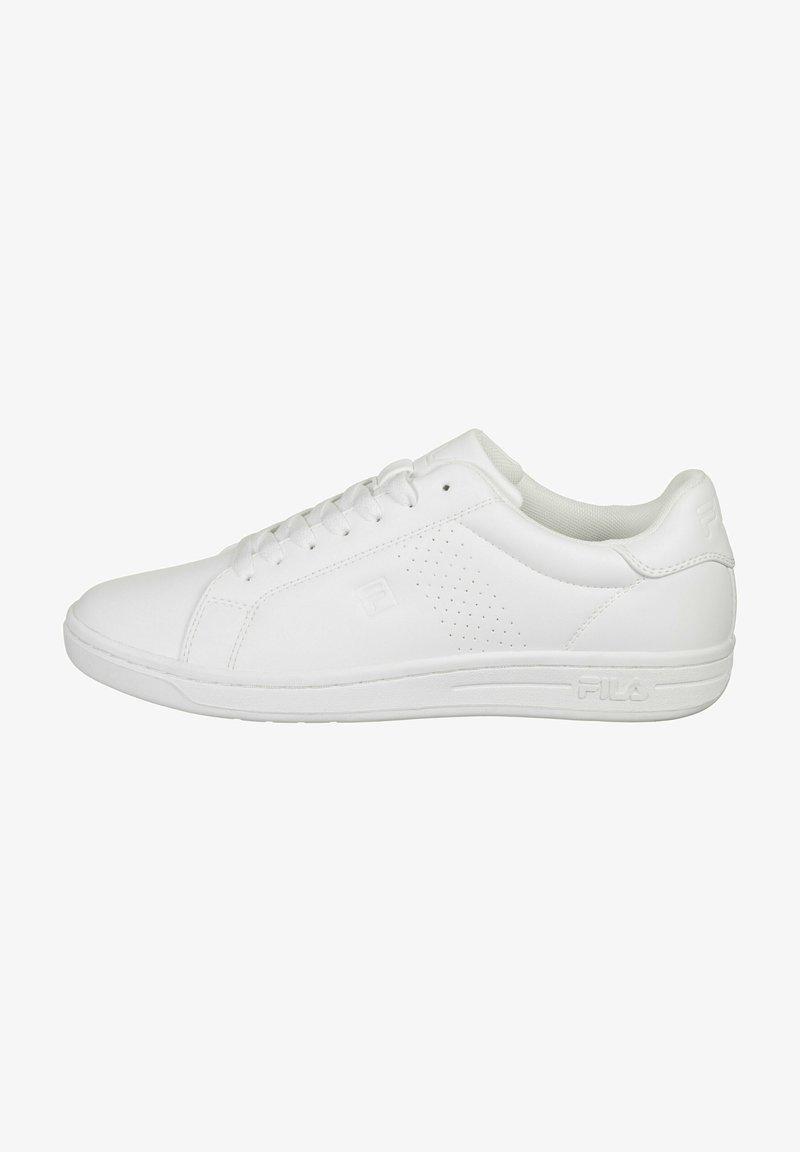 Fila - CROSSCOURT  - Trainers - white/white