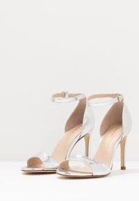 San Marina - AVANALA - High heeled sandals - argent - 4