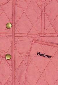 Barbour - GIRLS LIDDESDALE QUILT - Light jacket - vintage rose - 2