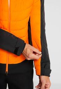 Kjus - MEN SIGHT LINE JACKET - Ski jacket - black/orange - 5