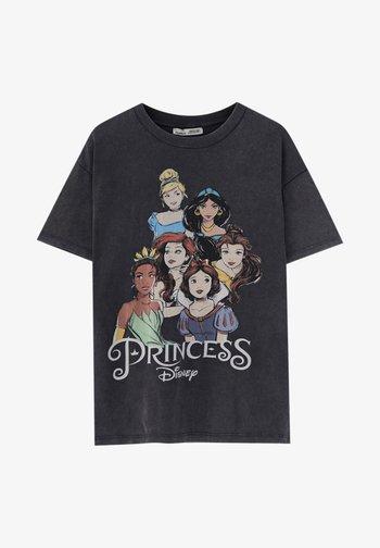 DISNEY - Print T-shirt - black
