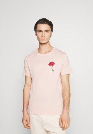 UNISEX - T-shirt med print - pink