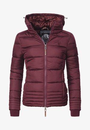 Winter jacket - winered