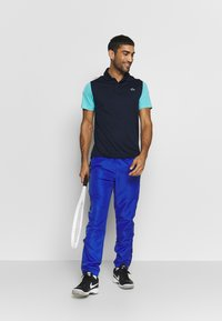 Lacoste Sport - TENNIS - Sports shirt - navy blue/haiti blue/white - 1