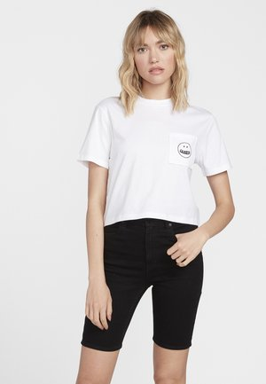 POCKET DIAL - Print T-shirt - white