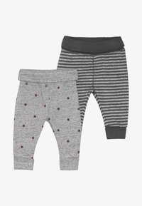 mothercare - BABY 2 PACK  - Tygbyxor - grey - 4