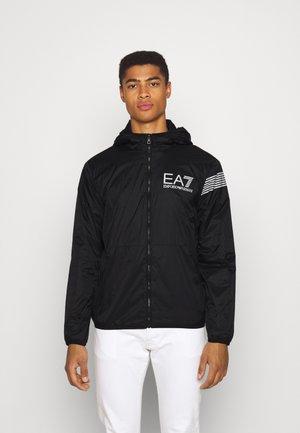 Summer jacket - black/white