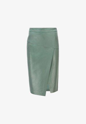 SELOA - Wrap skirt - light green