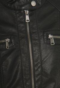 ONLY Tall - ONLBANDIT BIKER - Faux leather jacket - black - 2
