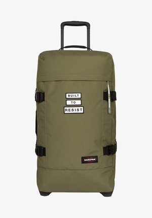 Wheeled suitcase - bold badge