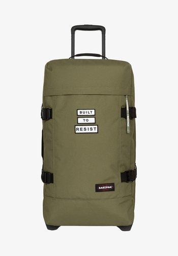Wheeled suitcase - bold badge