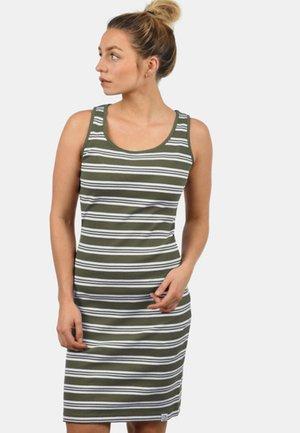RAHILE - Jersey dress - olive