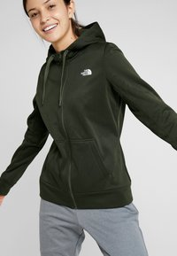 The North Face - SURGENT FULLZIP - Fleece jacket - green heather - 3