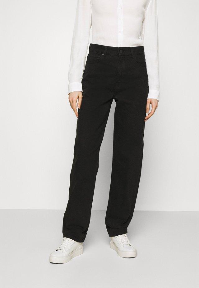CAMILLA - Jeans a sigaretta - black