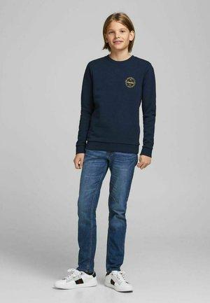 Sweater - navy blazer
