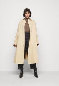 Won Hundred - BLAKELY - Sweter - brown melange - 1