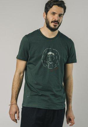 FOREST - T-shirt med print - green