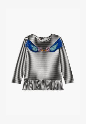 ELLY BIRDIE - Long sleeved top - black/white