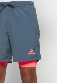 adidas Performance - SHORT - Short de sport - legblu/sigpink - 4