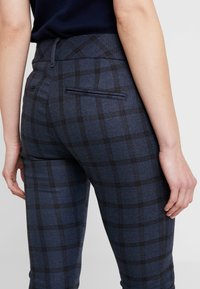 Mos Mosh - BLAKE CARLI PANT - Pantalones - mood indigo melange - 5