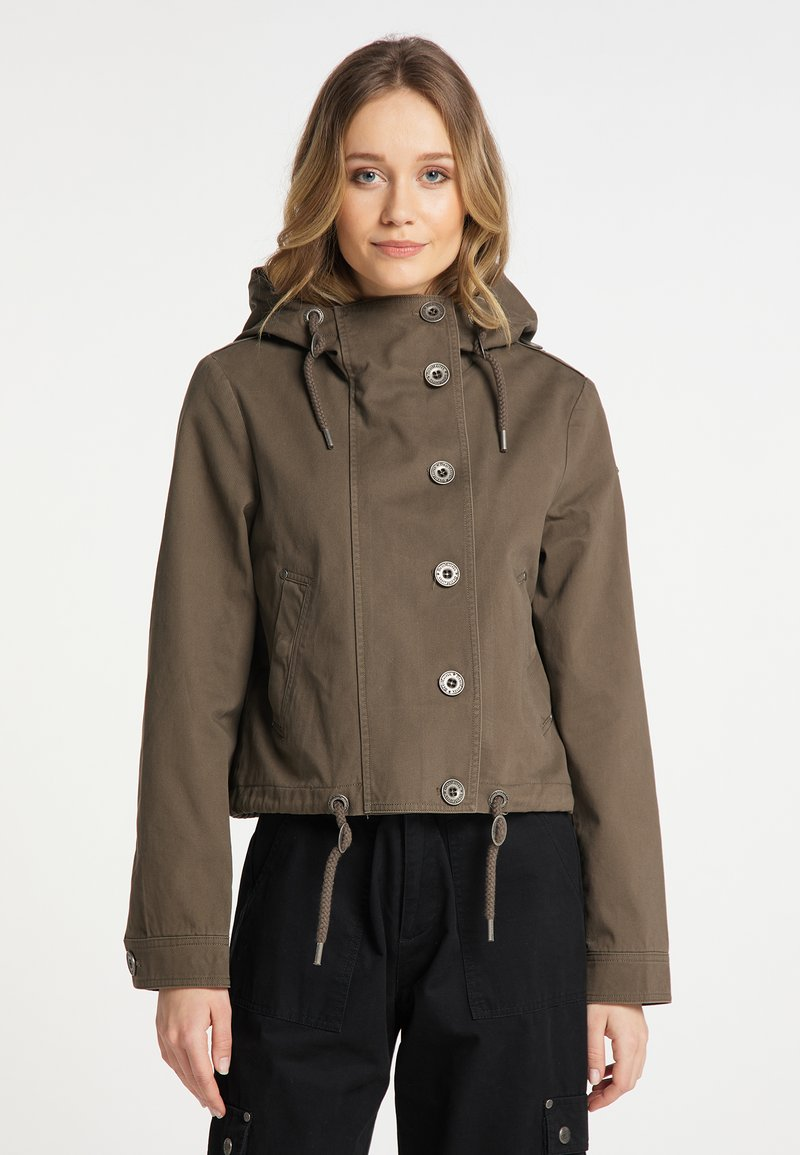 DreiMaster - Light jacket - grau oliv