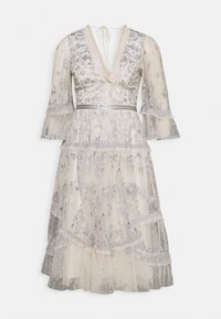 Needle & Thread - PENNYFLOWER DRESS - Cocktail dress / Party dress - champagne/blue - 0