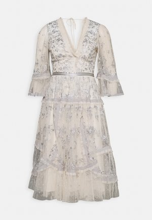 PENNYFLOWER DRESS - Vestito elegante - champagne/blue