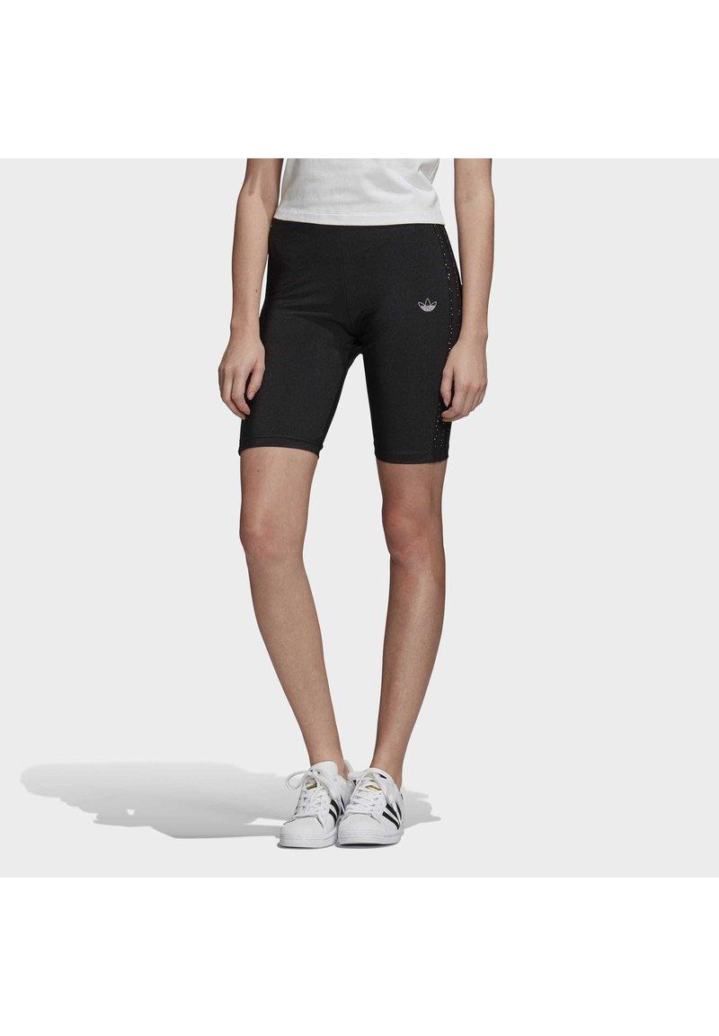 adidas Originals - SHORT TIGHTS - Shorts - black