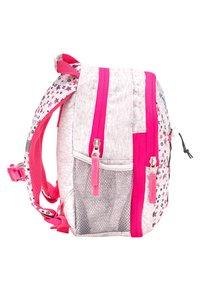 Belmil - MINI KIDDY - Rucksack - light grey  pink - 3