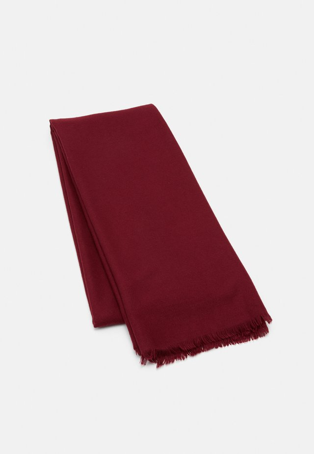 VMKATE LONG SCARF COLOR - Sjaal - cabernet