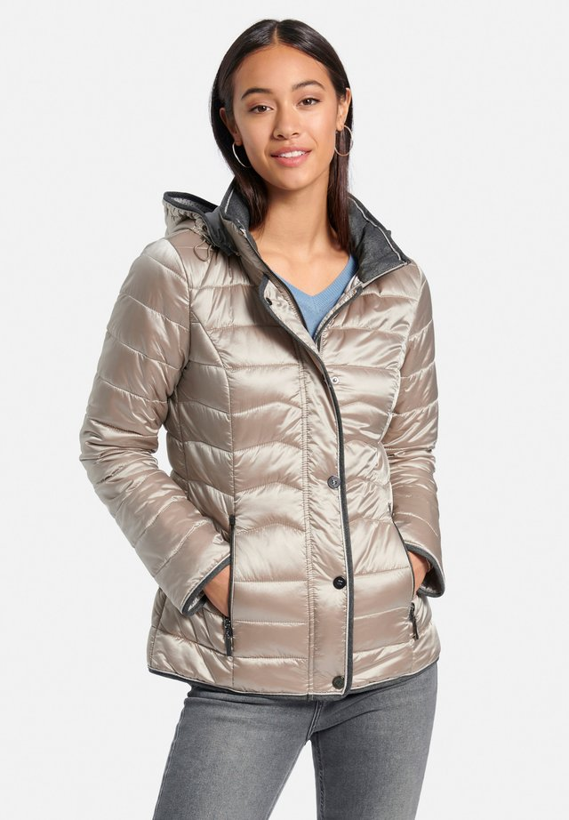 Winter jacket - taupe