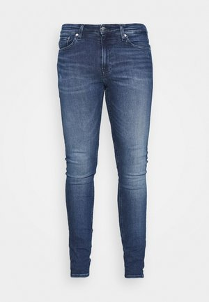 SUPER SKINNY - Jeans slim fit - denim dark